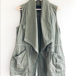 Anthropologie Sanctuary Draped Anorak Vest
